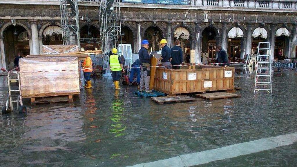 Servizio di accrochange a Venezia
