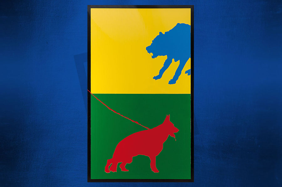 Legati – il lupo e il cane (Andrea Pezzile)