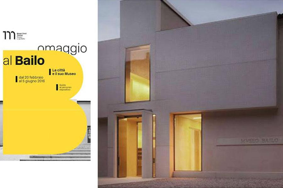 """Trasporto e installazione opere per la mostra """"Omaggio al Bailo"""""""