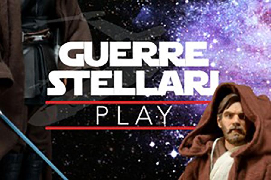 """Trasporto opere per la mostra """"Guerre Stellari Play"""""""