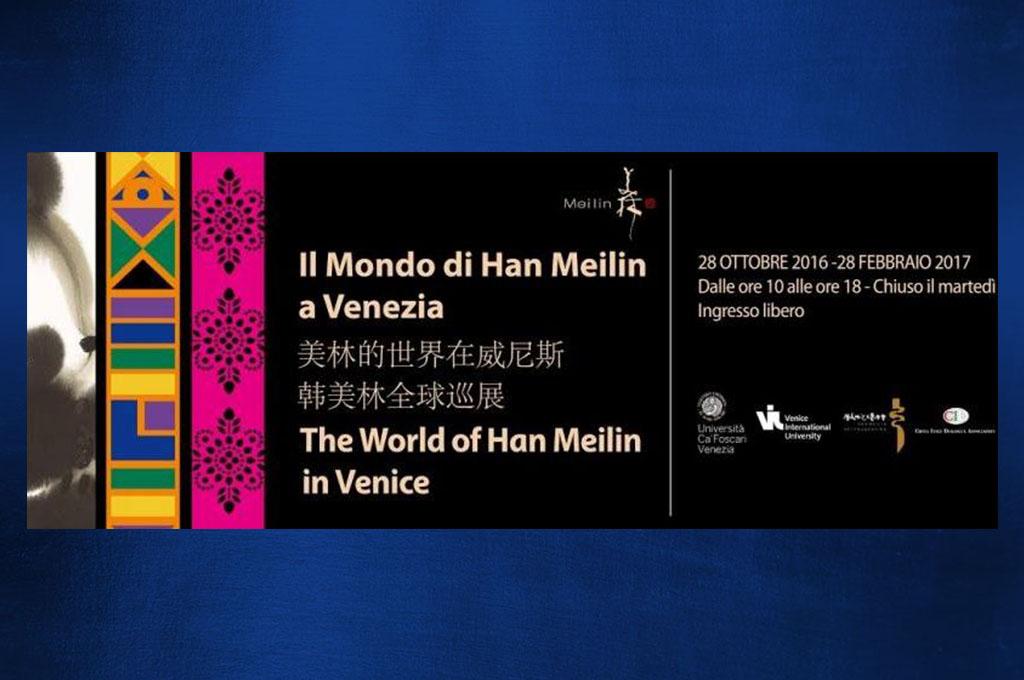 Trasporto opere per l'artista Han Meilin alla Cà Foscari di Venezia