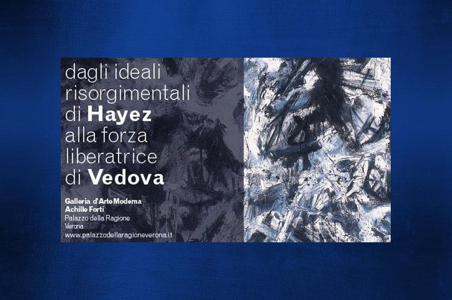 """Trasporto e installazione opere per la mostra """"Dagli ideali risorgimentali di Hayez alla forza liberatrice di Vedova"""""""