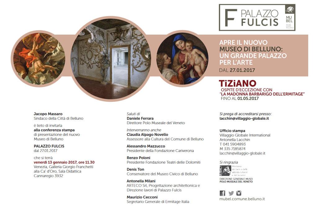 """Mostra Tiziano, """"La Madonna Barbarigo dell'Ermitage"""" a Belluno"""