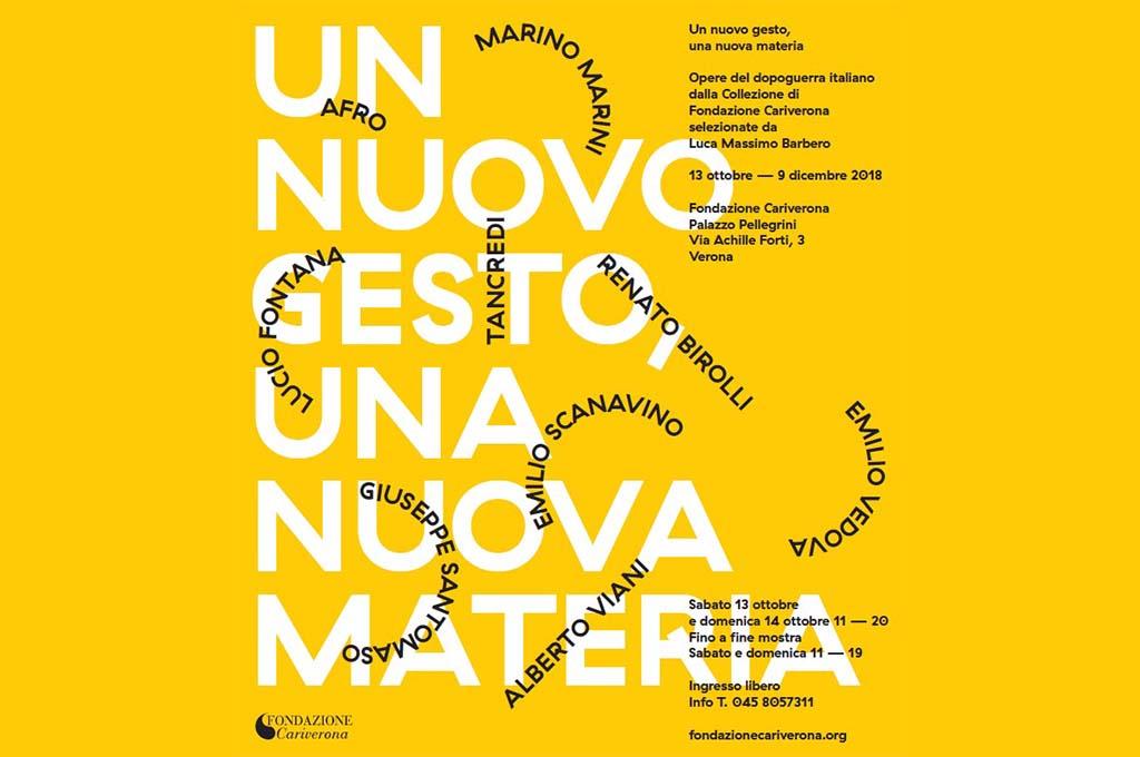 """Trasporto di due opere di Tancredi Parmeggiani per la mostra """"Un nuovo gesto, una nuova materia. """""""