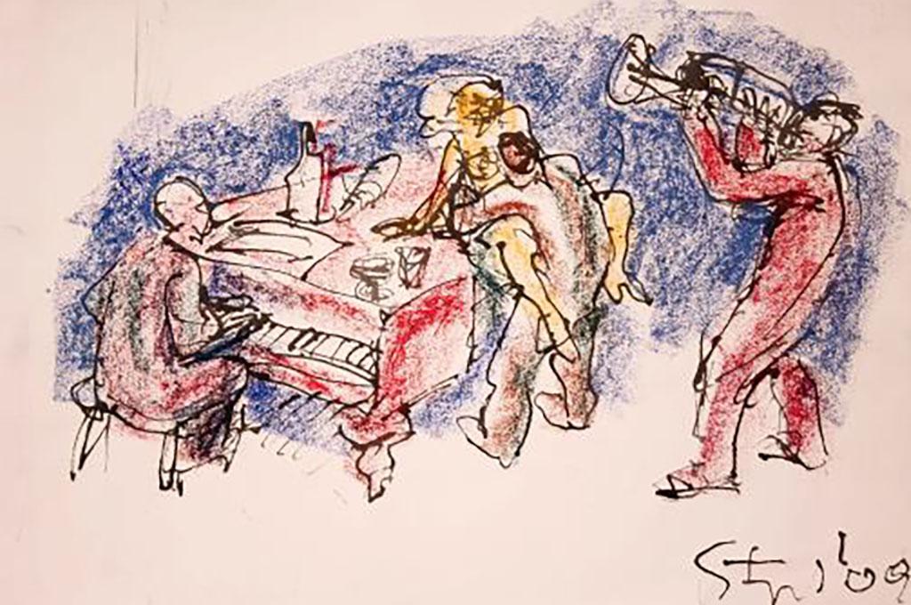 """Trasporto opere di Karl Stengel per la mostra """"Dal disegno alla metafora"""""""
