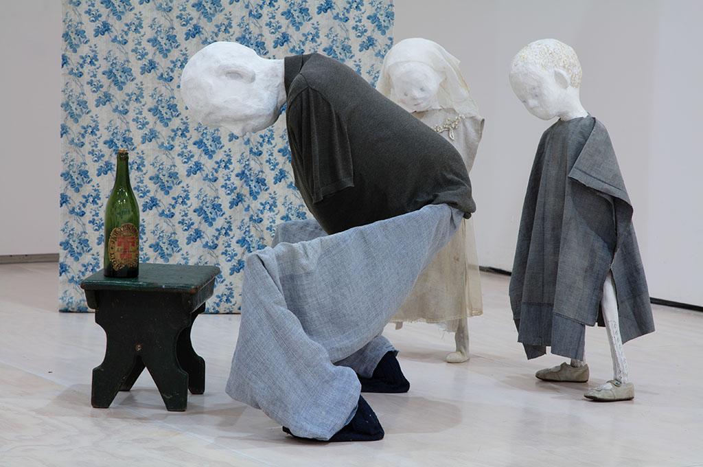 Trasporto ed installazione opere per la mostra di Cathy Wilkes c/o il padiglione Gran Bretagna