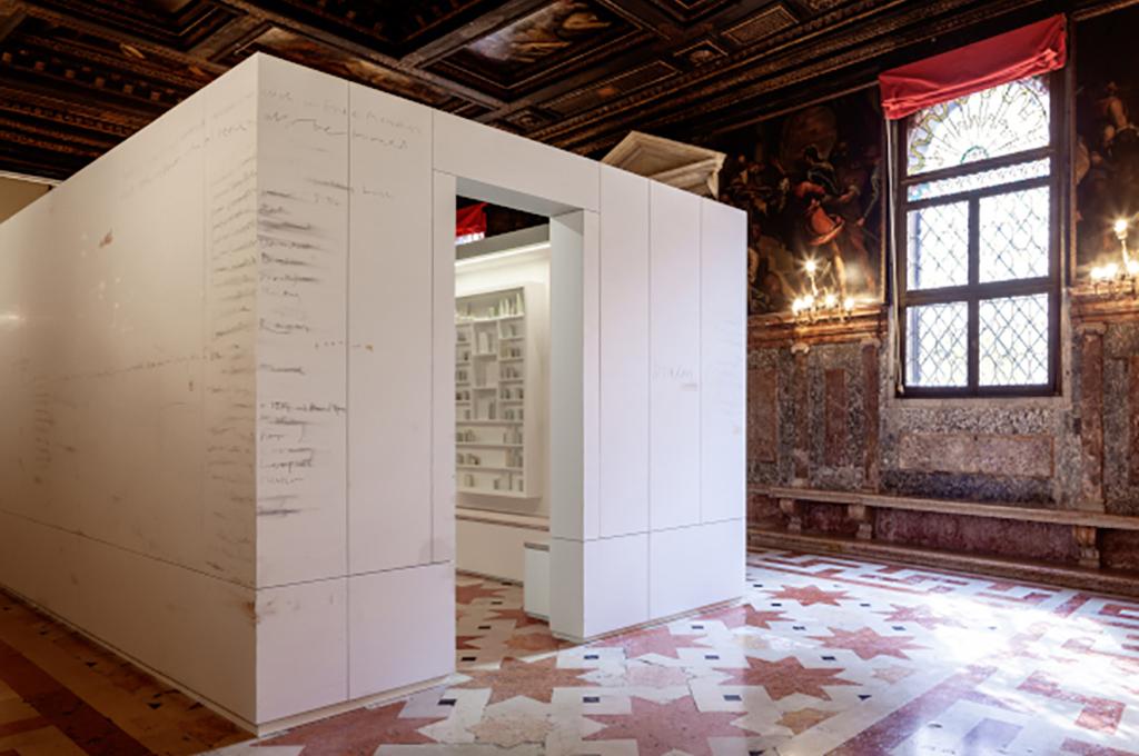 """Trasporto ed installazione opere per la mostra """"Edmund de Waal: Psalm"""""""
