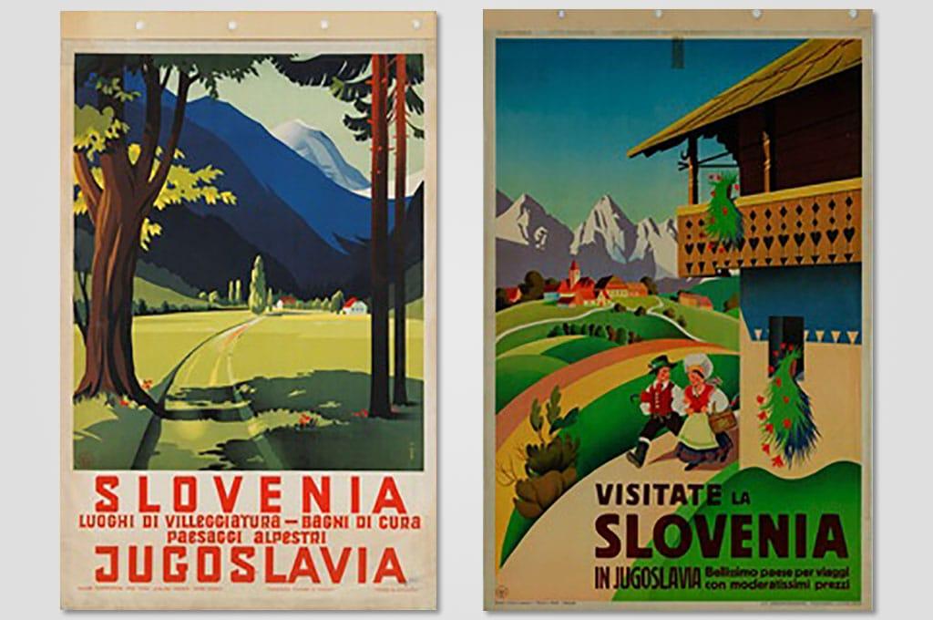 """Trasporto A/R opere mostra """"La Slovenia nei manifesti della Collezione Salce (Treviso)"""""""