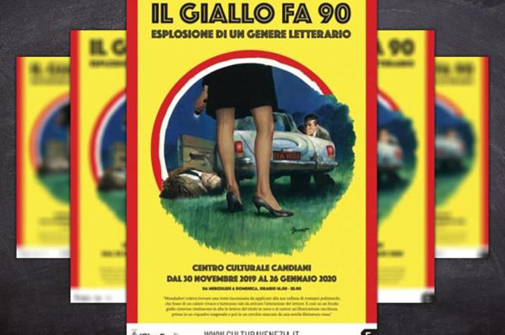 """Trasporto bozzetti per la mostra """"Il Giallo fa 90"""""""