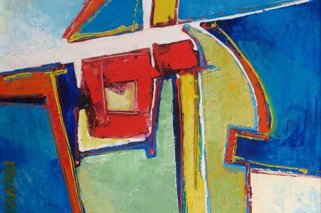 Trasporto sculture e dipinti per la mostra 'Lo Spazio e la Forma nelle opere di Malvisi'